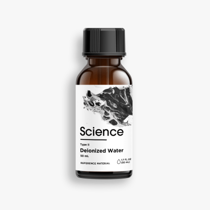 Deionized Water – Solvent, 50mL