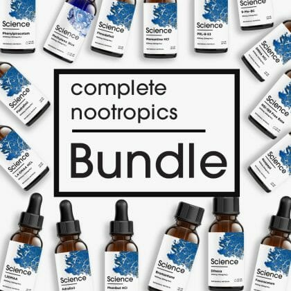Complete Nootropics Bundle – Liquid Set