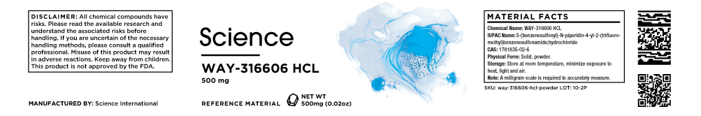 WAY-316606 HCL – Powder, 500mg