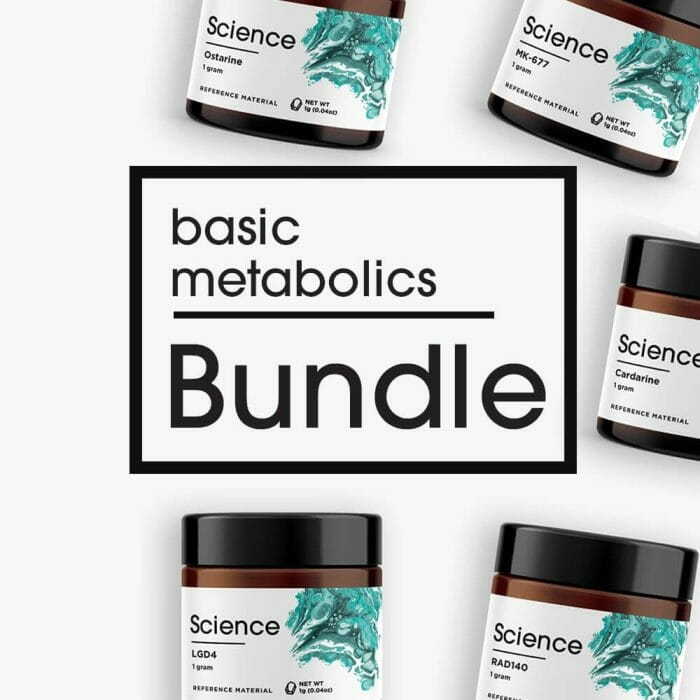 Basic Metabolics Bundle – Powder Set