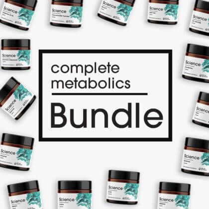 Complete Metabolics Bundle - Powder Set