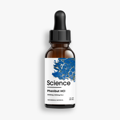Phenibut HCl – Solution, 3000mg (100mg/mL)