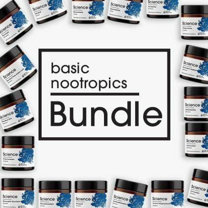 Basic Nootropics Bundle – Powder Set