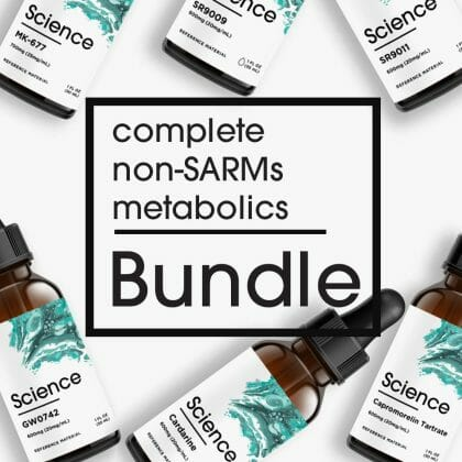 Complete Non-SARMs Metabolics Bundle – Liquid Set