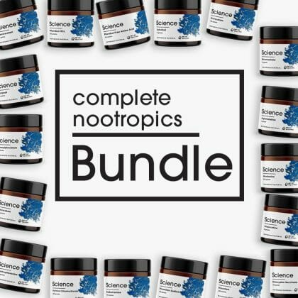 Complete Nootropics Bundle – Powder Set