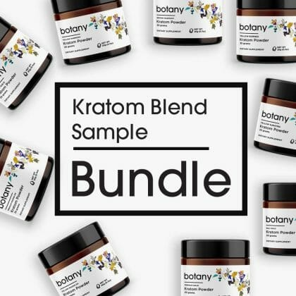 Kratom Blend Sample Bundle – Powder Set