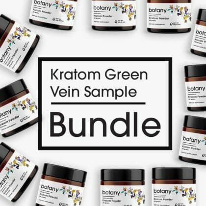 Kratom Green Vein Sample Bundle - Powder Set