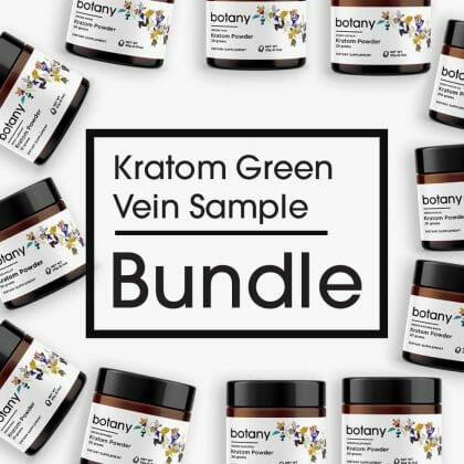 Kratom Green Vein Sample Bundle – Powder Set