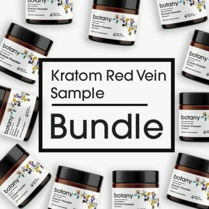 Kratom Red Vein Sample Bundle - Powder Set