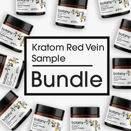 Kratom Red Vein Sample Bundle – Powder Set