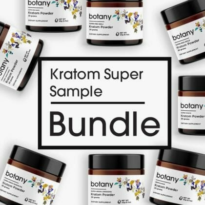 Kratom Super Sample Bundle - Powder Set
