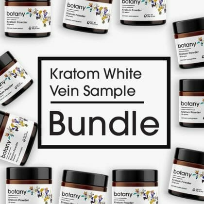 Kratom White Vein Sample Bundle - Powder Set